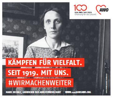 Gedenken an 100 Jahre Frauenwahlrecht - 100 Jahre AWO @ Universitätsplatz