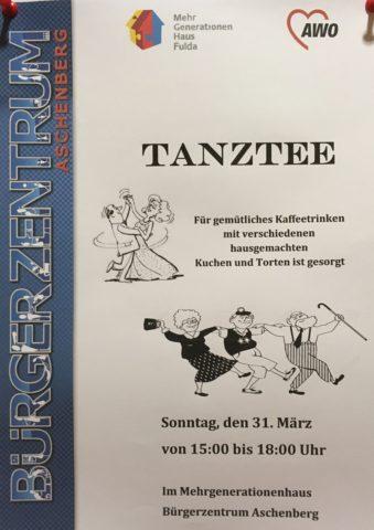 Tanztee im Bürgerzentrum Aschenberg @ Bürgerzentrum Aschenberg