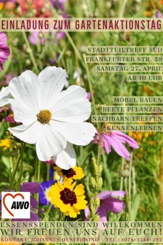 AWO-Gartenaktionstag @ Südendtreff F59