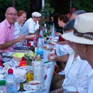 AWO Fulda Dinner in Weiß