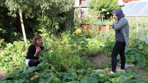 Gartengruppe im AWO Stadtteiltreff Südend